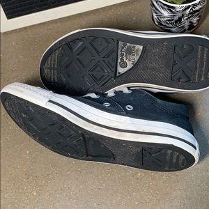 Converse Shoes - Women's black converse all stars size 6